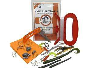 Vigilant Trails Pocket Survival fishing kit for survival fishing
